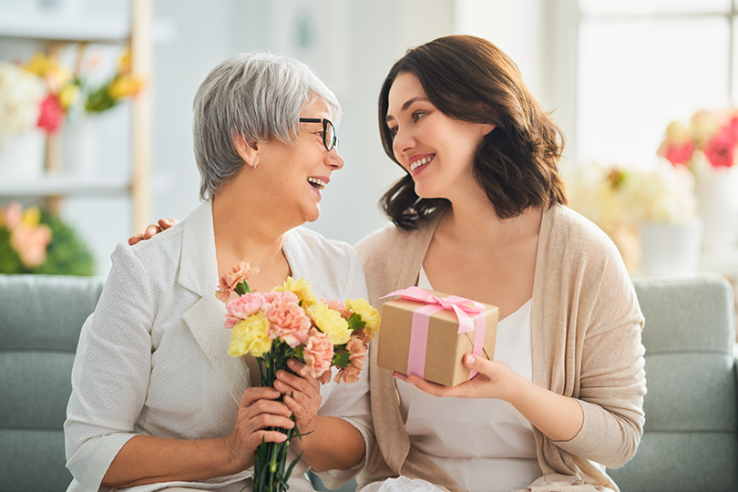 Geschenke zum Muttertag mit bis zu 20% Cashback
