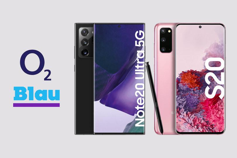 Die Samsung Galaxy Note20 Serie zu optimalen Konditionen