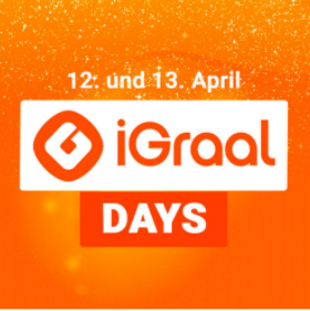 iGraal Days - 12.04. & 13.04.