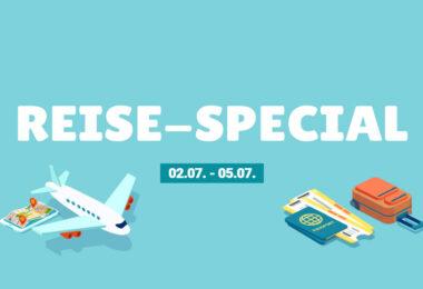 Last-Minute-Urlaub durch das Reise-Special. Spare durch Cashback und Rabatte.